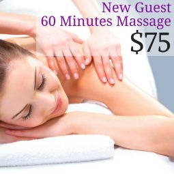 New Guests 60 minute massage