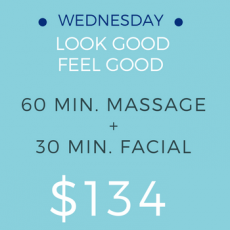 Massage and Facial Package