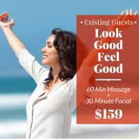 Look Good Feel Good Massage & Facial Package