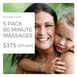 Mothers's Day Massage Specials