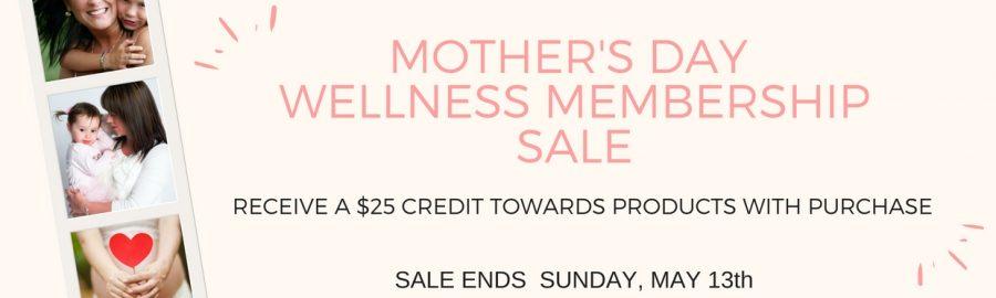Wellness Membership Sale