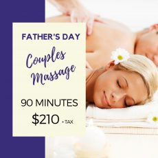 Father's Day Couples Massage Special