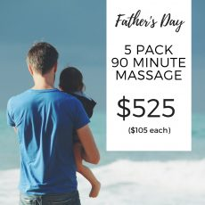 Father's Day Massage Package