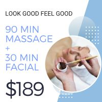 Massage and Facial Special