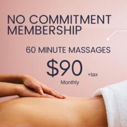 60 Minute Massage Membership