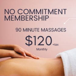 90 Minute Massage Membership